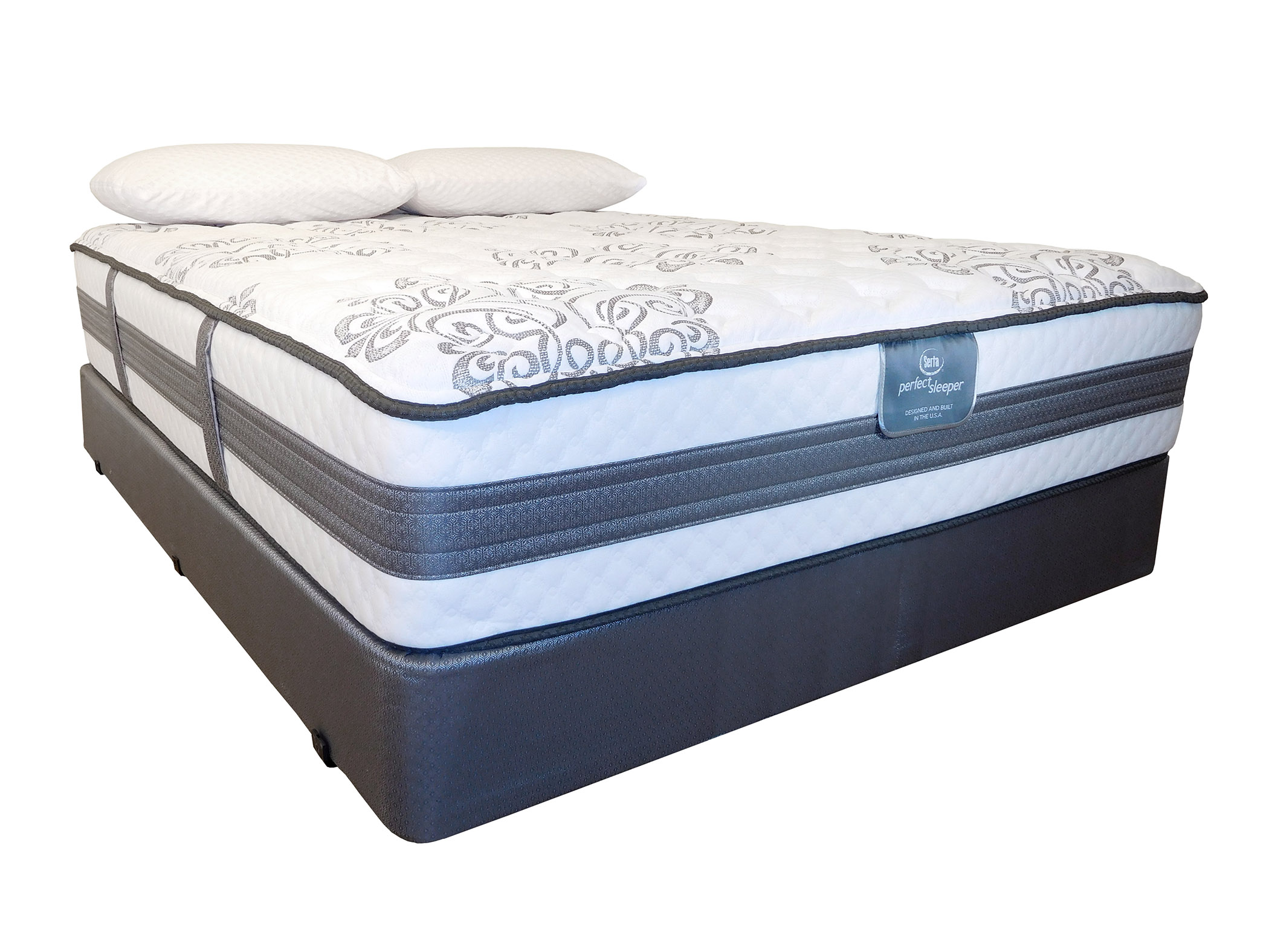 Level 4 mattresses memory foam cooled mattress for Serta iseries